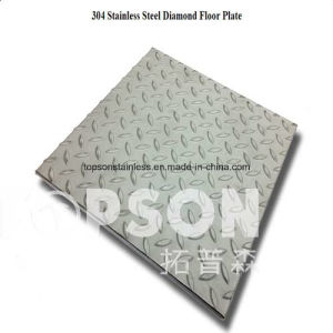 High Strength Embossed 304 Stainless Steel Diamond Floor Plate