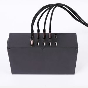 Quick Charging 10 Ports 100W 2A*10 Output USB Desktop Smart Charger