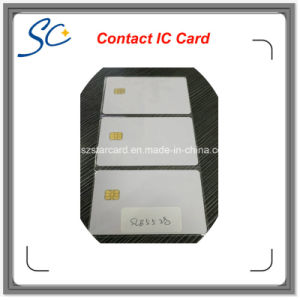 Contact Blank Smart IC Card with Sle5528 Chip Without Magnetic Stripe