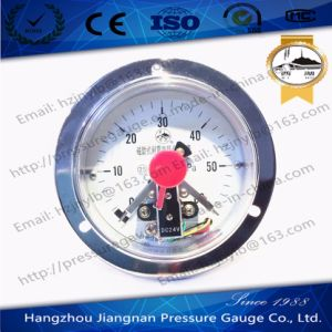 60MPa Magnetic Vibration Proof Electric Contact Pressure Gauge pictures & photos