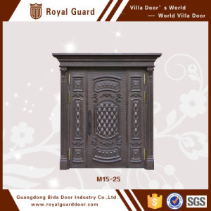 Factory Directly Sale Aluminium Crocodile Pattern Door Apartment Door Main Entrance Door Design