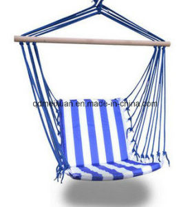 Outdoor Supplies Wholesale Cotton Hanging Chair Outdoor Hanging Hammock Chair Rocking Chair Swing Hammock (M-X3813) pictures & photos