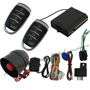 Anti-Hijacking One Way Car Alarm with New Transmitter