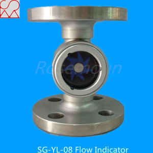 2 Inch Standard Flange PTFE Impeller Air Sight Flow Indicators pictures & photos