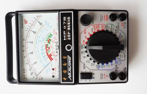 AC DC Voltage Analog Multimeter (MF47B) with Ce pictures & photos