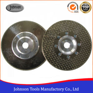 105-300mm Single Side Triangle Dots Electroplated Diamond Saw Blade pictures & photos