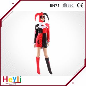 Fashion and Modern Poker Cosplay Costumes for Ladies Women pictures & photos