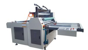 Semi Automatic Glueless Thermal Laminating pictures & photos