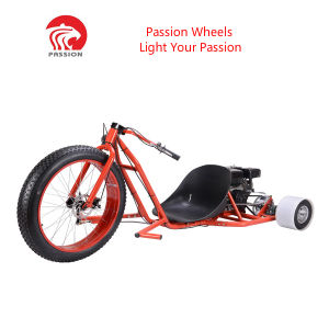China Hottest Passion 3 Wheel Gasoline Drift Trike Bikes - China ...