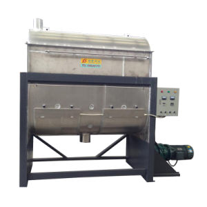 Heating Plastic Mixer /Dry Powder Mixing Machine Horizontal Mixing Machine
