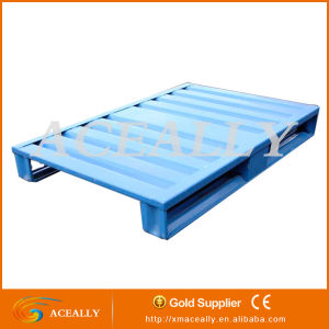 2016 2 4 Way Single Double Face Stackable Metal Standard Pallet Size