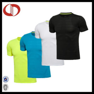 Custom Design Plain Compression Gym Fitness T Shirts for Man pictures & photos