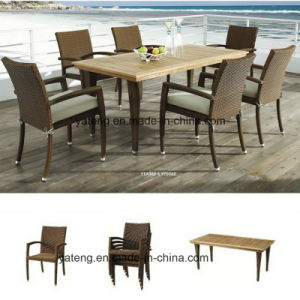 Outdoor Furniture Garden Dining Chair & Table Teak Dining Set (YT362) pictures & photos