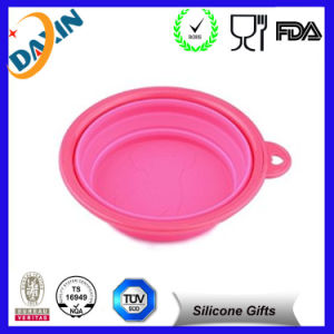 Eco-Friendly Waterproof Foldable Protable Silicone Dog Bowls pictures & photos