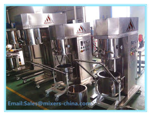 High Quality Vacuum Emulsifying Double Planetary Mixer