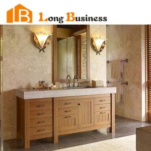 Chinese Local Bamboo Bathroom Vanity