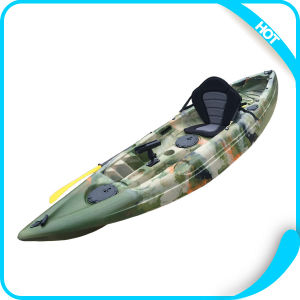 Popular Selled Small Fishing Kayak with 4 Optional Fixed Rod Holders