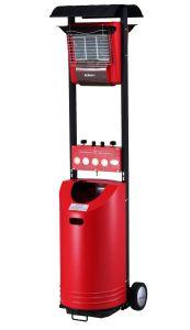 Ceramic Gas Patio Heater 8400W