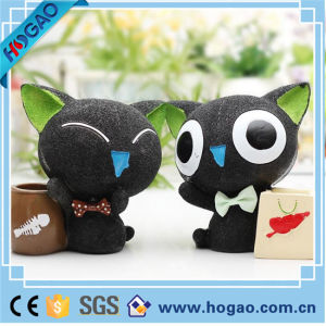 OEM Resin Pen Holder Black Cat Table Decoration pictures & photos