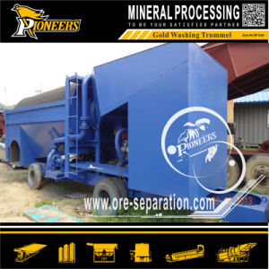 Mining Mobile Gold Processing Alluvial Gold Ore Washing Plant Trommel