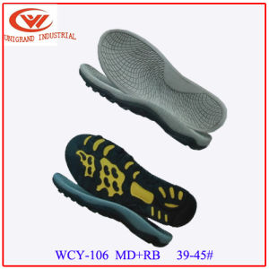 New Style EVA Rubber Outsole for Making Flip Flop pictures & photos