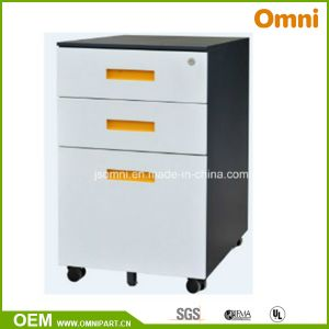 Mobile Pedestal File Cabinet with Three Drawer (OMNI-45-3T) pictures & photos