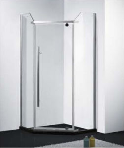China Long Handle Glass Shower Door/ Long Handle Tempered Glass ...