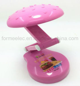 Table LED Light Lamp Rechargeable X825 Hamburger LED Lamp Torch pictures & photos