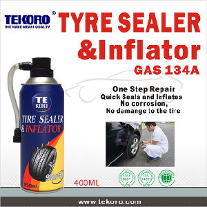 Tire Sealer & Inflator (non flammable) pictures & photos