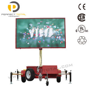 Full Color Vms Trailer with Video LED Display