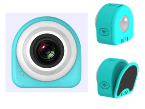 1080P Re-Stickable Magnetic WiFi Sport Camera with Remote Control
