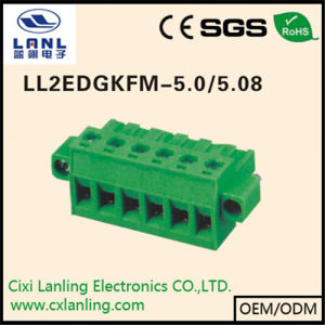 Ll2edgkfm-5.0/5.08 Pluggable Terminal Blocks Connector