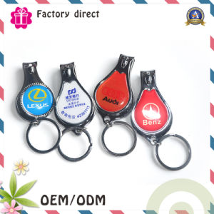 Car Logo Promotional Giveaways Items Nail Clipper with Opener pictures & photos