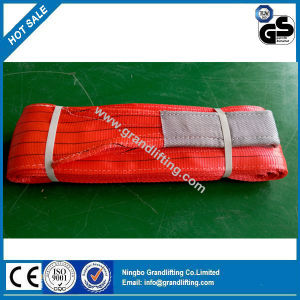 100% Polyester Woven Flat Webbing Sling pictures & photos