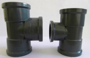 Large Size Plastic Pipe Fitting PVC Fittings pictures & photos