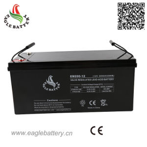 12V 200ah Maintenance Free AGM Sealed Lead Acid Solar Battery