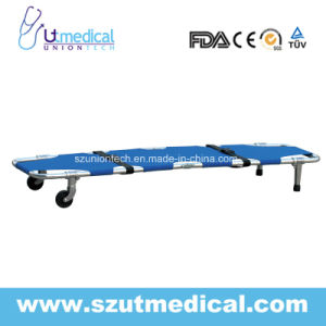 Ydc-1A1 Foldaway Stretcher with 2 Wheels and Outriggers