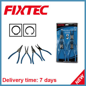 Fixtec Hand Tool 7 Inch 4 PCS Circlip Plier Set pictures & photos