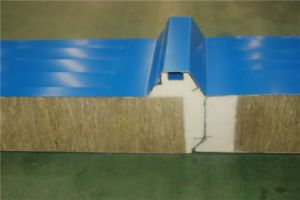 A Grade Fireproof Rockwool Sandwich Panels pictures & photos