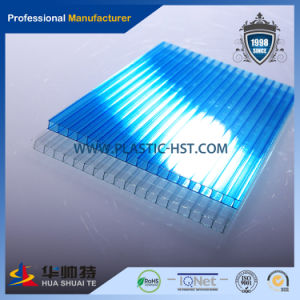 Top Quality UV Protection Twin Wall Hollow Polycarbonate Sheets pictures & photos