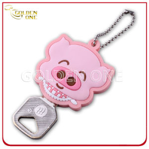 Promotion Gift Cute Cartoon Image PVC Key Cover pictures & photos