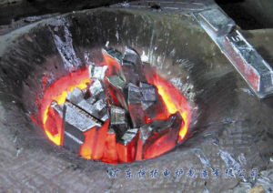 1.5ton Aluminum Melting Furnace pictures & photos