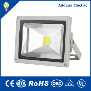Energy Star 220V IP66 30W Cool White COB LED Floodlight pictures & photos