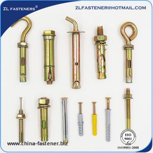 Good Quality All Kinds of Zinc Plated Expansion Anchor Bolt