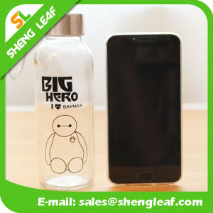 Lovely Characterastic Custom Logo Bottle with Strap (SLF-WB037)