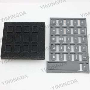 925500528 Black Keypad Auto Cutter Parts for Gerber Cutter Gt5250