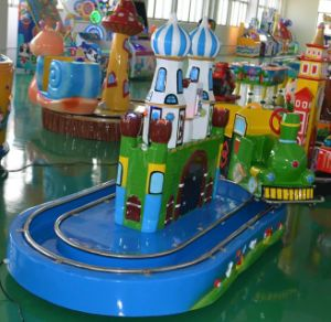 Kiddie Rides Amusement Machine Castle Train