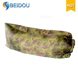 Outdoor Camouflage Lazy Laybag Bean Bag Air Hangout Beach Camping Inflatable Sleeping Bag