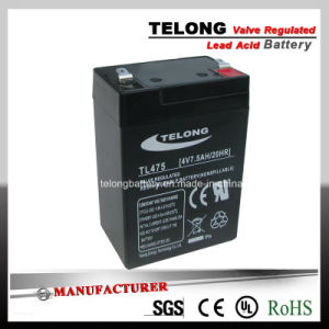 4V7.5ah Lead Acid Battery for Electronic Weighing Scale pictures & photos
