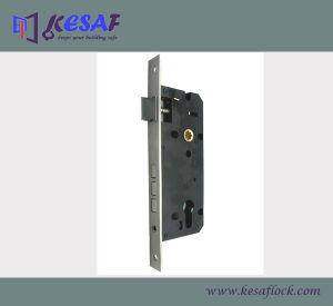 Mortise Door Lock Body Components with 3 Square Bolt (8545SS3B)